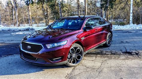 2018 Ford Taurus Sho Review Youtube