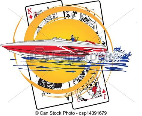 Fast Boat Vector by Go Fast Boat High Power Boat Poker Run Design