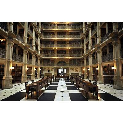 George Peabody Library Bibliothek Baltimore - bullsh!ft