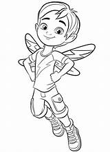 Cafe Coloring Jasper Butterbean Pages Butterbeans Printable Fairy Cricket Cartoon Boy Sheets Babyhouse Info sketch template