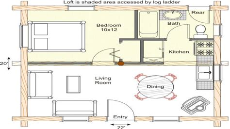 Small Log Cabin Homes Floor Plans Small Log Cabins To