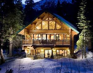 log cabins for the winter