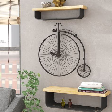 Apkamart understands this need and hence brings what is perfect and extremely appealing. 17 Stories Metal Bicycle Wall Décor & Reviews | Wayfair