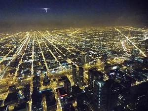 Night View from Skydeck - Picture of Skydeck Chicago ...