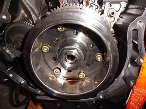 Alternator Rotor Removal