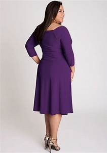 Purple Plus Size Dress  Fashion Show Collection – Fashion ...