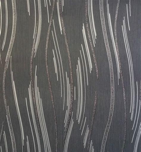 Moderne Tapeten In Grau by Glitter Wallpaper Shimmer Textured Modern Lines Stripes
