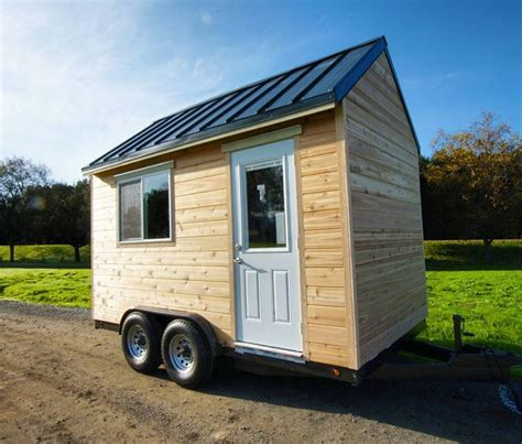 tiny house intimidated by building try a tiny house shell from tiny
