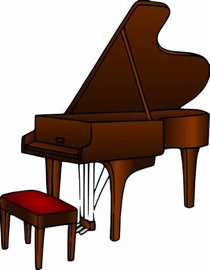Piano Clipart Clip Vector Domain Pianist Cliparts