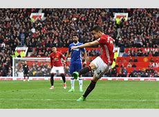 Match Report Manchester United 20 Chelsea