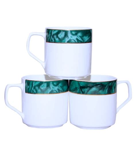 Back in 1990, buying a cup of joe would only cost americans about $1.45—and that is considering inflation. Pearl Green&White Coffee Cup Set: Buy Online at Best Price in India - Snapdeal