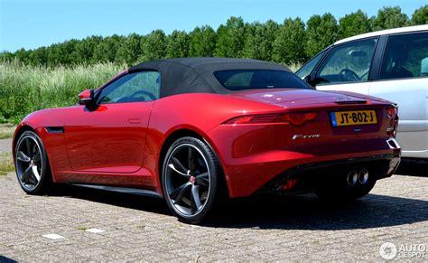 Jaguar F Type S Convertible by Jaguar F Type S Awd Convertible 26 May 2017 Autogespot