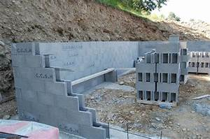 les 3 murs en moellons banches maisons clair logis notre With maison en beton banche 3 niveau 0 archive at notre maison en bois