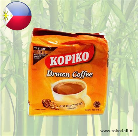 Surprisingly, dark roasts often have less acid than lighter. Brown Coffee 275 gr Kopiko   Toko 4 All   My Little ...