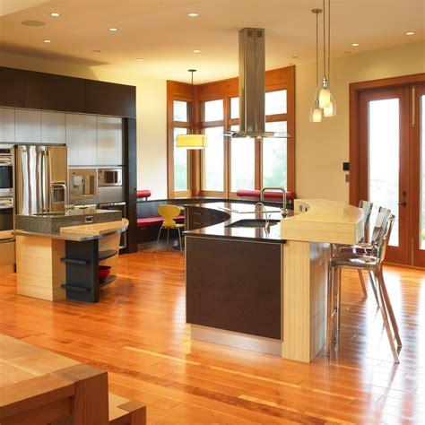 idee couleur cuisine ouverte cuisine idee cuisine ouverte sur salon avec argent