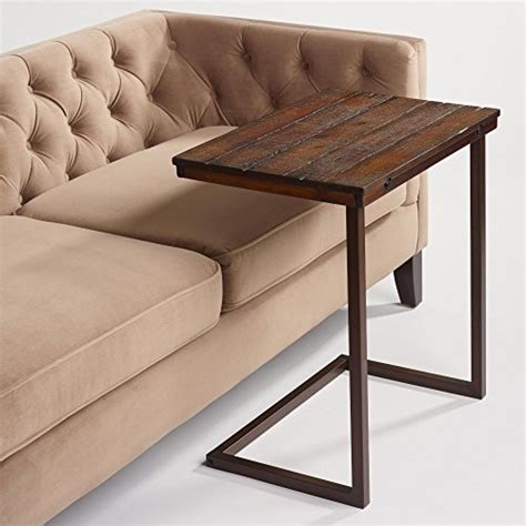 world market wood laptop table  couch recliner  sofa   couch table type