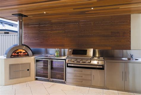 alfresco kitchen designs alfresco kitchens zesti woodfired ovens perth wa 1197