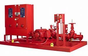 Fire Pump Offers Compact Design