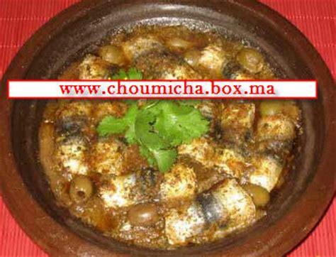 recette de cuisine choumicha tajine de sardines roulées choumicha cuisine marocaine