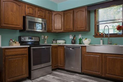 Ideas For Old Kitchen Cabinets - how to paint kitchen cabinets without sanding or priming hgtv