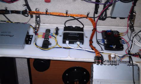 yellow wiring for stereo the hull boating and