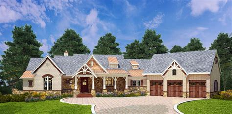 craftsman style house plan  mary mount