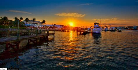 Boat Marinas In Jupiter Florida by Jetty S Restaurant Jupiter Florida Sunset At Marina
