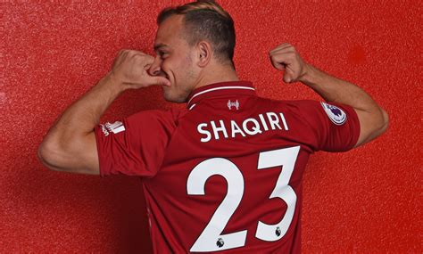 Shaqiri est un joueur de Liverpool (off.) - Sport.fr