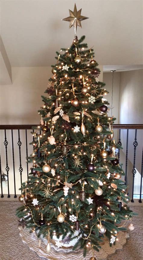 gold bronze brown cream silver metallic christmas