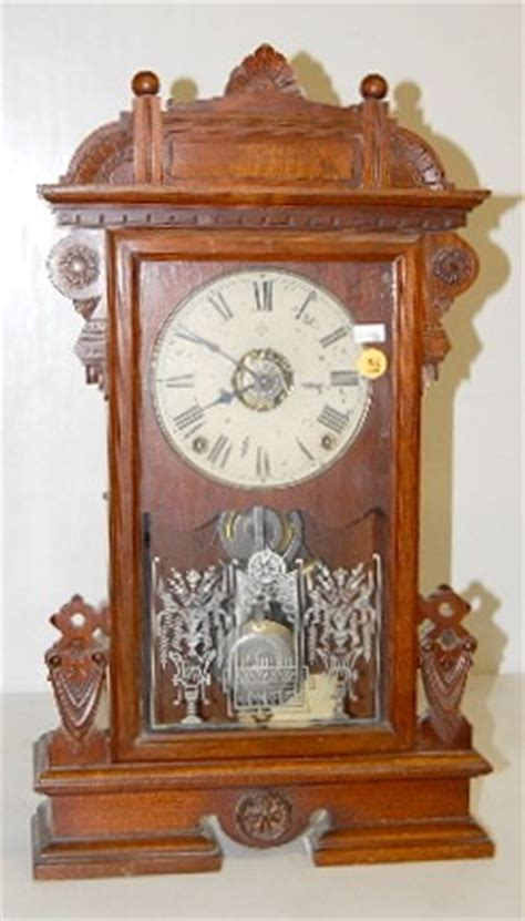 seth thomas city series ogden shelf clock price guide