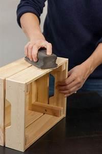 Caisse En Bois à Donner : faire une table de nuit avec des caisses en bois c t maison ~ Louise-bijoux.com Idées de Décoration