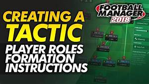 Creating A Tactic Guide  Fm18 Player Roles  Formation