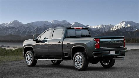 Chevrolet High Country 2020 by 2020 Chevrolet Silverado Hd Looks Bling Bling In High