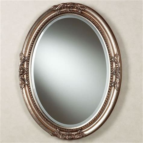 How To Frame An Oval Bathroom Mirror by Andina Oval Wall Mirror