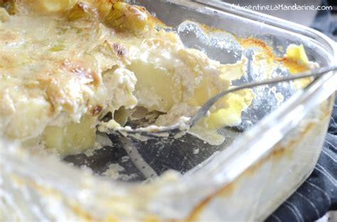 cuisiner poireau gratin poireaux pommes de terre végane clémentine la