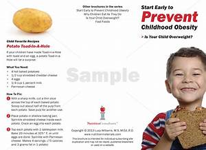 Is Your Child Overweight  -  Pamphlet   Printed
