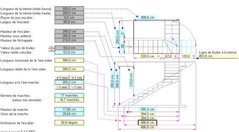 calcul escalier quart tournant haut escalier calcul ou le travail 224 fond