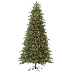 rocky mountain fir led pre lit slim artificial christmas tree warm lights white