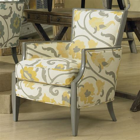 sam exposed wood chair citron accent