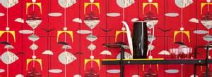 Papier Peint Sanderson Mobiles by Tuppence Ha Penny Sanderson Fabric Wallpaper