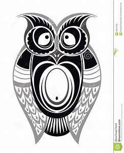 Decorative Owl Stock Vector - Image: 43447642