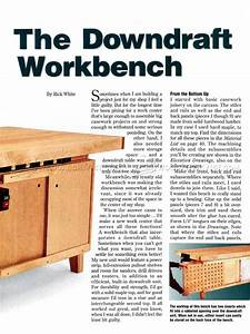 Downdraft Table Plans • WoodArchivist