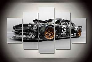 HD Printed ford mustang rtr car Painting Canvas Print room decor print poster picture canvas ...