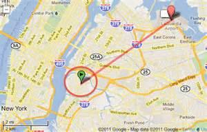 JFK and LaGuardia Airports Map