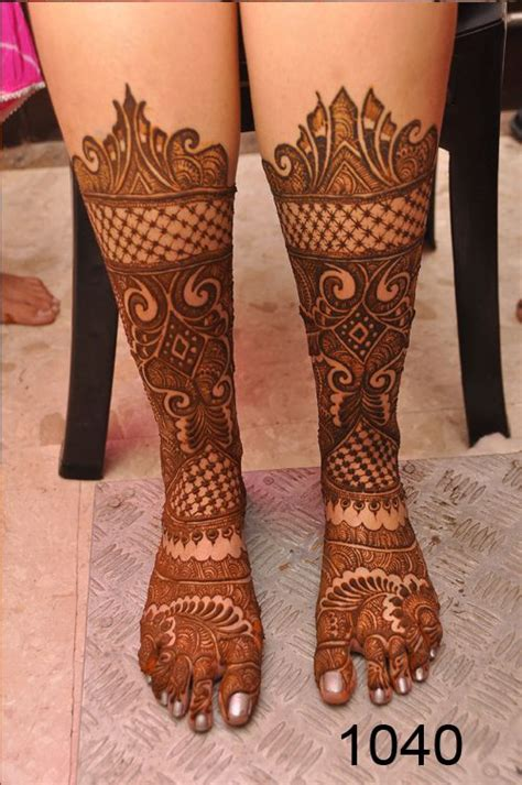 beautiful bridal mehndi designs  wedding day