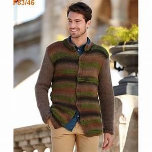 Veste En Laine Homme : mod le tricoter gratuit veste homme laine katia stratos ~ Carolinahurricanesstore.com Idées de Décoration