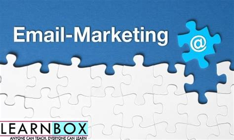 email marketing course email marketing basics tutorial learnbox