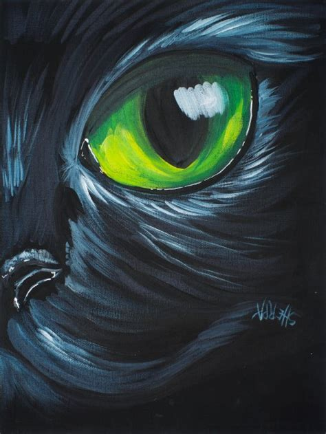 I was wondering what kind of paint or sealer to use if i'm going to paint on rubber… like that rubber part at the tip of. How To Paint Acrylic For Beginners An Easy Black Cat On Canvas - The Art Sherpa   theartsherpa.com