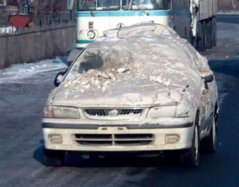 Image result for cars with snow on the window
