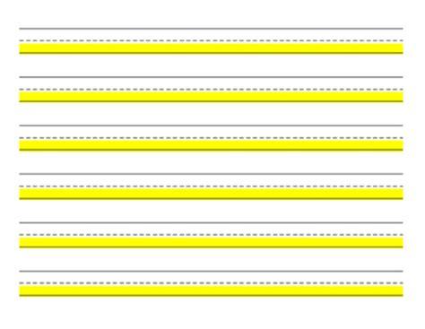 highlighted handwriting paper  matthews reading